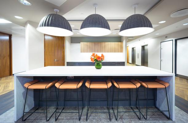 King William Street EC4 office space – Kitchen