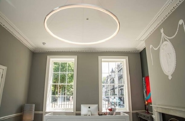 Bedford Square WC1 office space – Reception