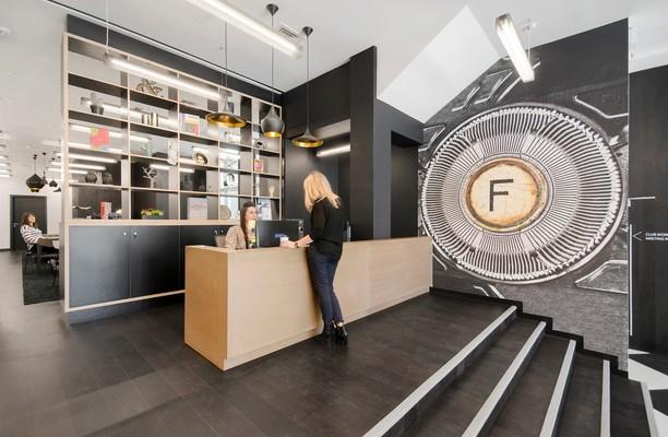Fleet Street EC4 office space – Reception