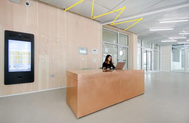 Filament Walk SW8, SW18 office space – Reception
