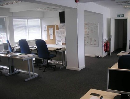 Deer Park Road SM4 office space – Private Office (different sizes available).