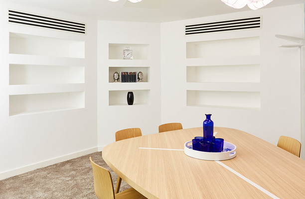 Golden Square W1 office space – Meeting/Boardroom.