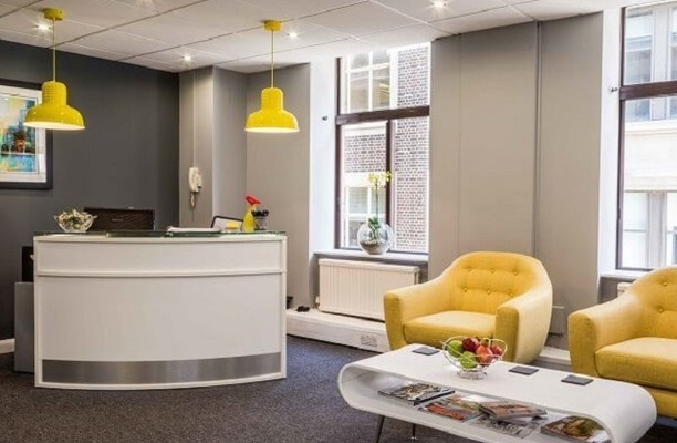 Golden Square W1 office space – Reception