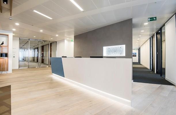 London Bridge Street SE1 office space – Reception