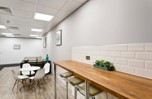 Aldgate E1, EC3 office space – Break Out Area