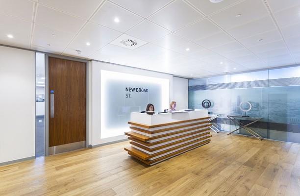 New Broad Street EC2 office space – Reception