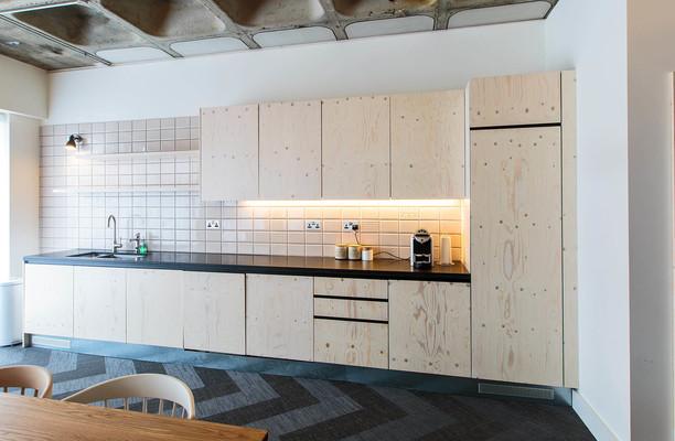 Borough High Street SE1 office space – Kitchen