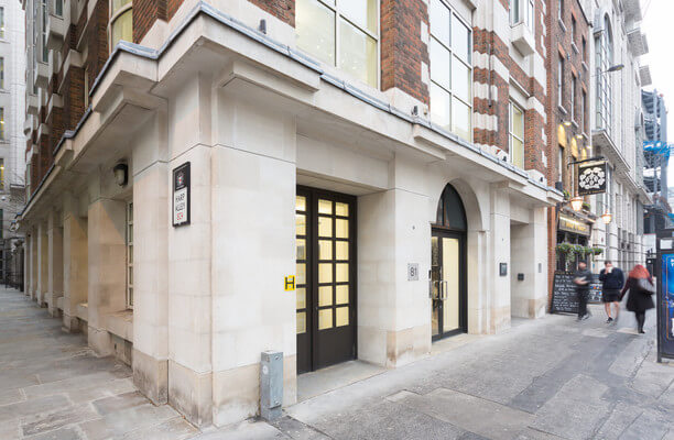 Farringdon Street EC1 office space – Building External