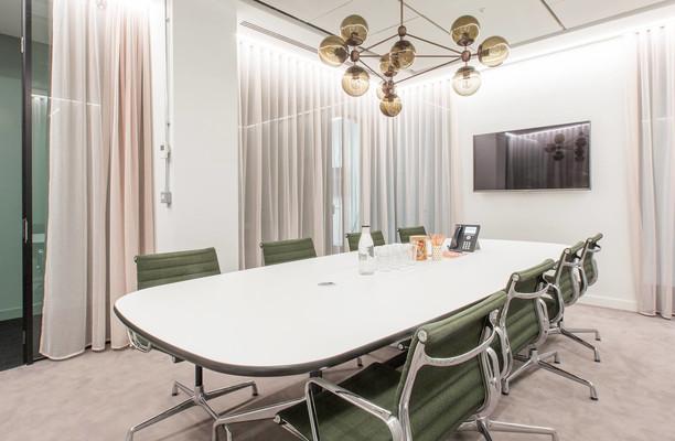 Stephen Street W1 office space – Meeting/Boardroom.