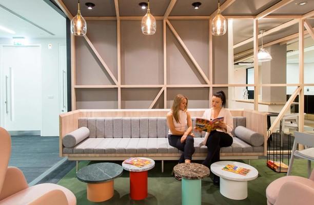 Stephen Street W1 office space – Break Out Area