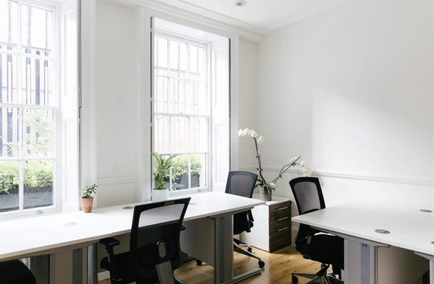 Ganton Street W1 office space – Private Office (different sizes available).