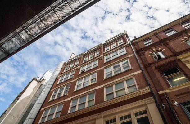 Whitefriars Street EC4 office space – Building External