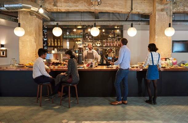 Singer Street EC1 office space – Restaurant
