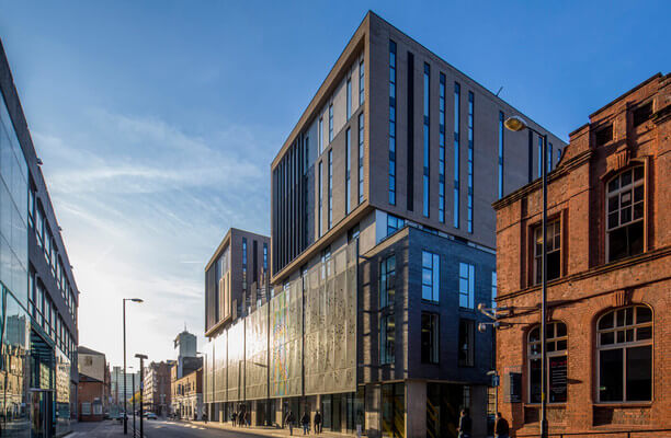 Lever Street M2 office space – Building External
