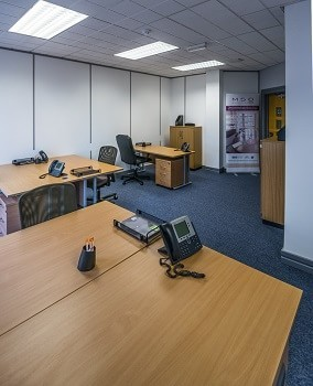 Level Street B4 office space – Private Office (different sizes available).