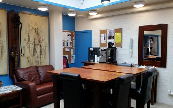 Couching Street OX49 office space – Break Out Area