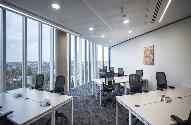 Kingdom Street W2 office space – Private Office (different sizes available).
