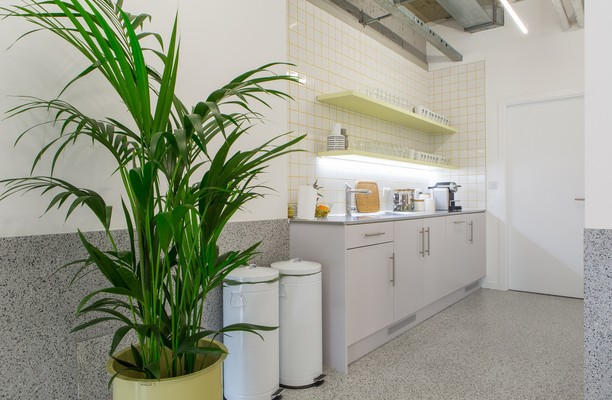 Angel Square N18 office space – Kitchen