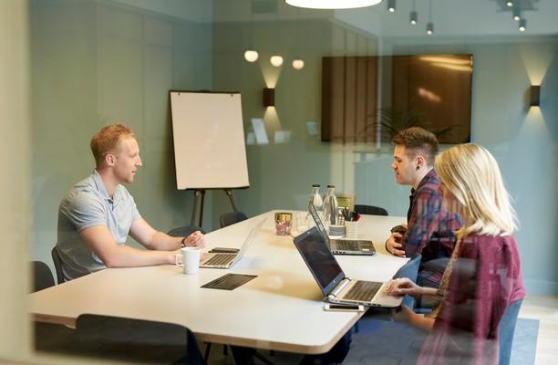 Great Portland Street W1 office space – Meeting/Boardroom.