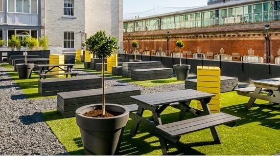 Bixteth Street office space – Outdoor Area