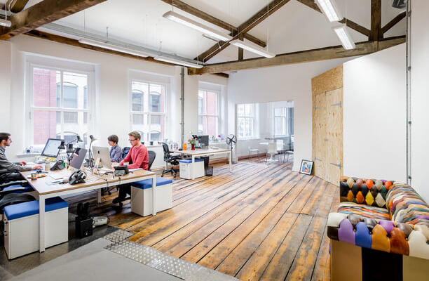 Portland Street M2 office space – Private Office (different sizes available).