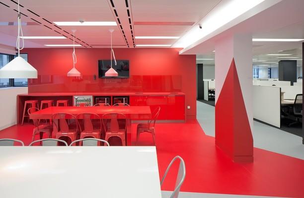 Finsbury Square EC1, EC2 office space – Break Out Area