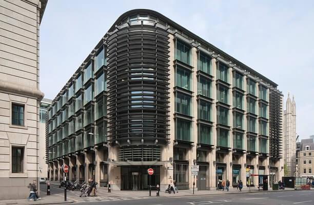 Cannon Street EC4 office space – Building External