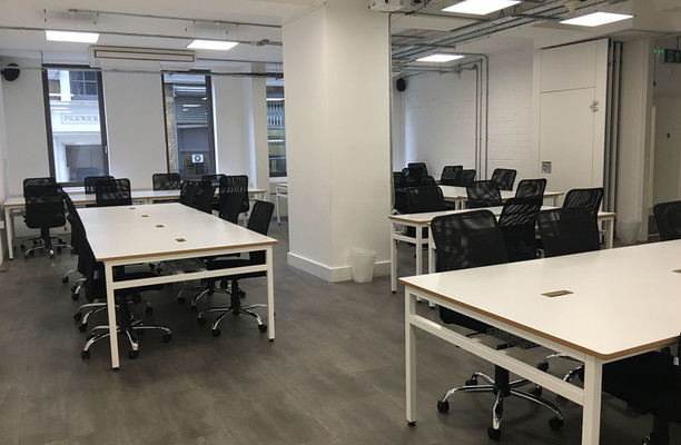 City Road EC1 office space – Private Office (different sizes available).