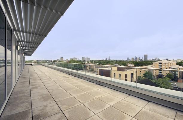 Pell Street SE16 office space – Outdoor Area