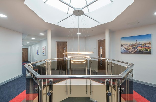 Aviary Court RG21 office space – Atrium