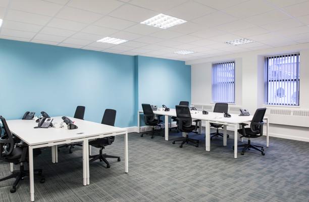 Cloth Market NE1 office space – Private Office (different sizes available).