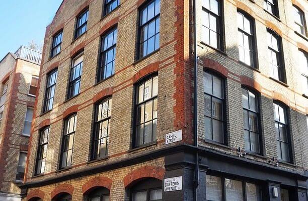 Dufferin Street EC1 office space – Building External