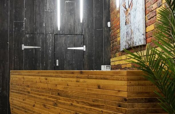 Dufferin Street EC1 office space – Reception