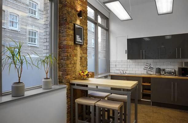 Dufferin Street EC1 office space – Kitchen