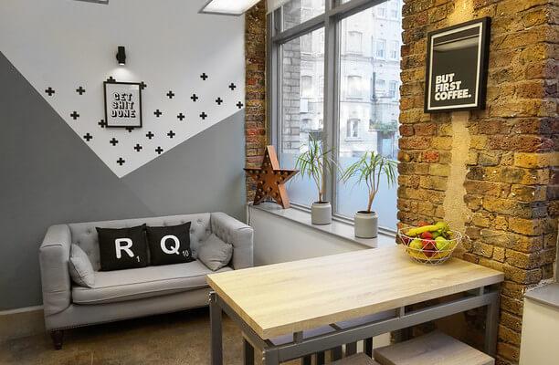 Dufferin Street EC1 office space – Break Out Area