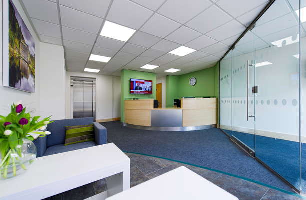 Old Lane HX1-HX7 office space – Reception