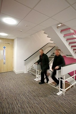 Regent Centre NE1 office space – Hallway