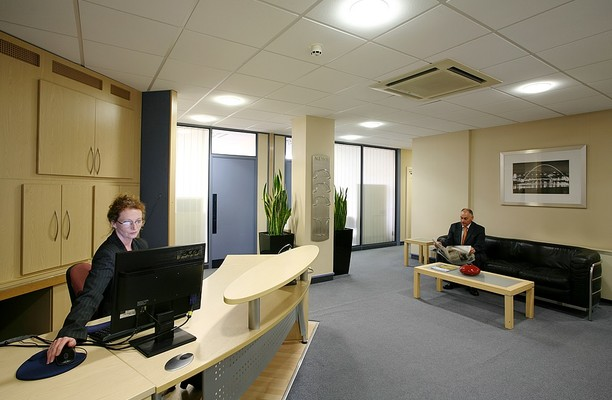 Regent Centre NE1 office space – Reception