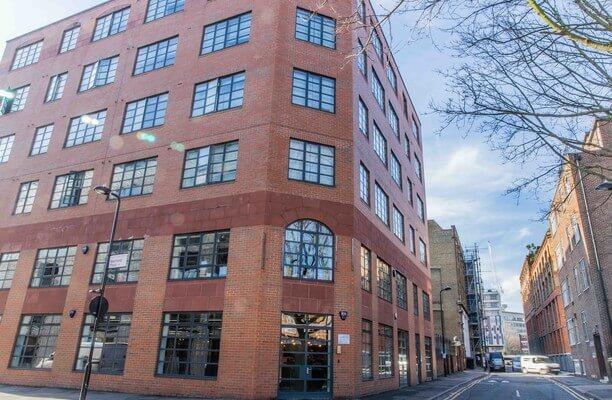 Westland Place EC1 office space – Building External