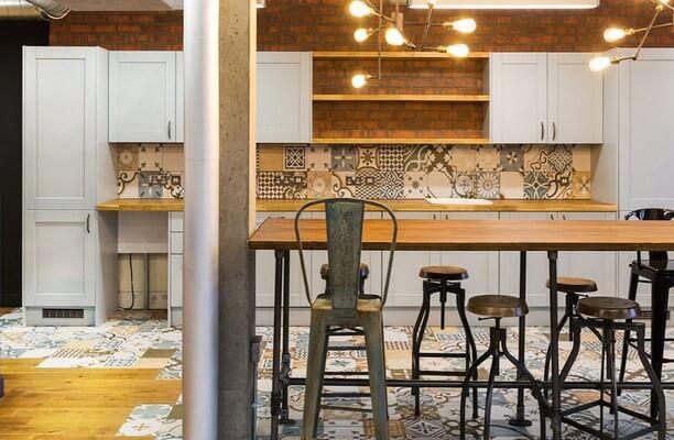 Westland Place EC1 office space – Kitchen