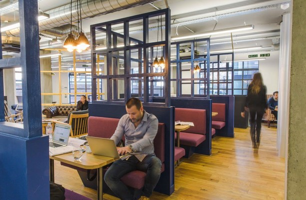 Westland Place EC1 office space – Break Out Area