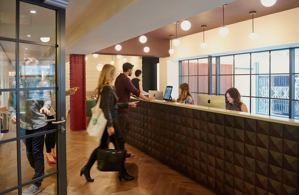 Bloomsbury Way WC1 office space – Reception