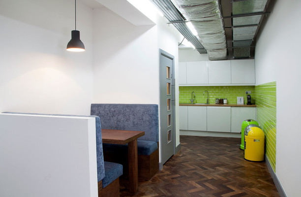 Old Street EC1 office space – Kitchen