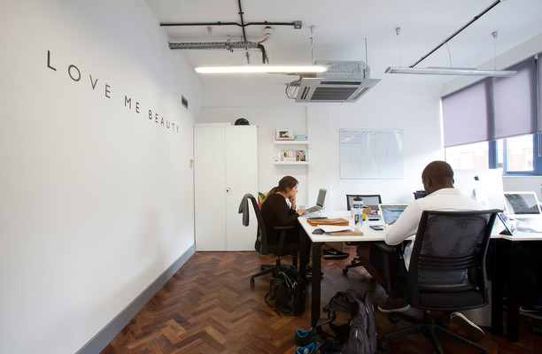 Old Street EC1 office space – Private Office (different sizes available).