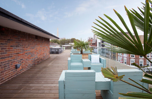 Old Street EC1 office space – Outdoor Area