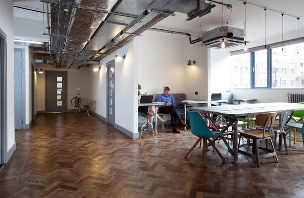 Old Street EC1 office space – Break Out Area