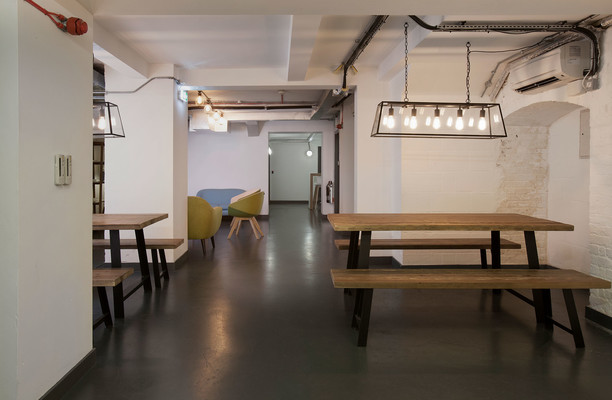 Shoreditch High Street EC1, EC2 office space – Break Out Area
