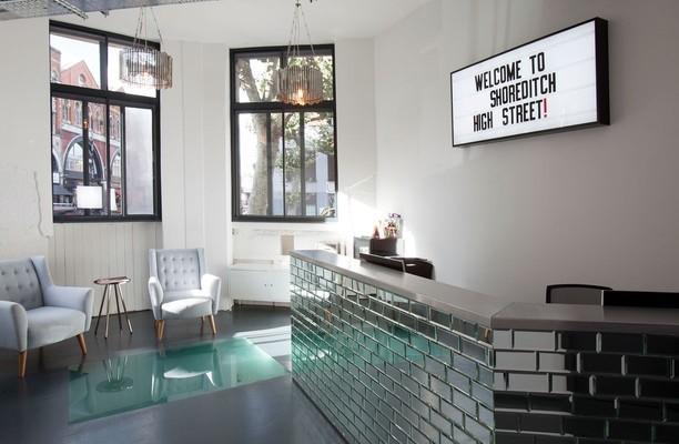 Shoreditch High Street EC1, EC2 office space – Reception