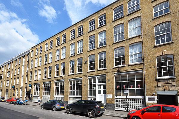 Vestry Street EC1, EC2 office space – Building External