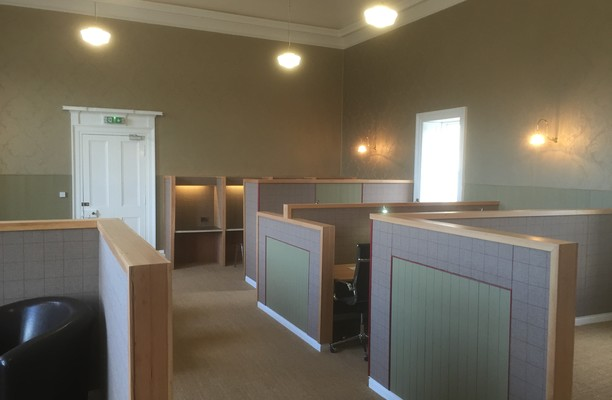 High Street KY13 office space – Private Office (different sizes available).